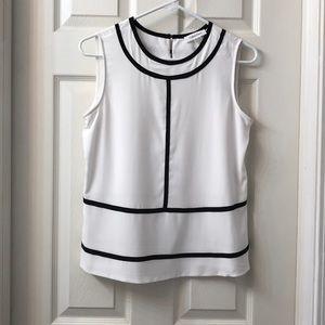 {Calvin Klein} Black & White Tank | XS